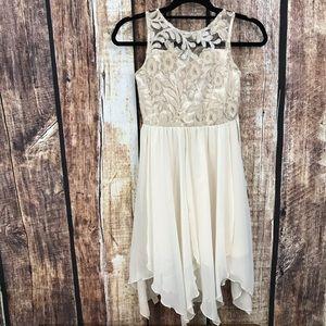 Rare Editions Girls Formal Mid Length Dress 12